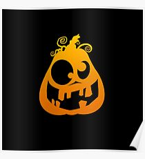 Pumpkin Goofy Poster