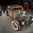 1934 Ford Rat Rod - iPhone Case by HoskingInd