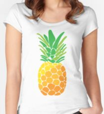 pineapple II Women's Fitted Scoop T-Shirt