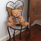 Ted in the Butterfly Chair by aussiebushstick