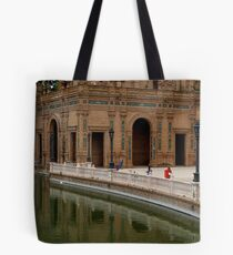 Plaza de Espana Tote Bag