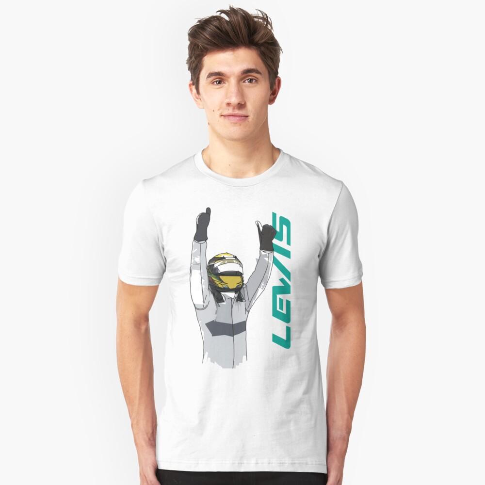 Lewis Hamilton Unisex T-Shirt Front