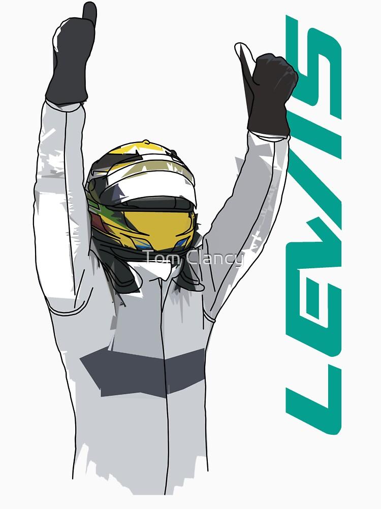 Lewis Hamilton by RetroLink
