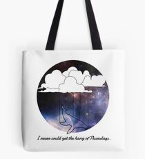 Hitchhiker's Guide Whale Tote Bag