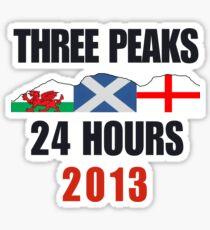 Three Peaks Challenge Sticker