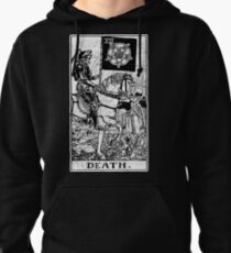 Death Tarot Card - Major Arcana - fortune telling - occult Pullover Hoodie