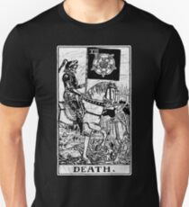 Tarot Card - Major Arcana - Wahrsagerei - okkult Slim Fit T-Shirt