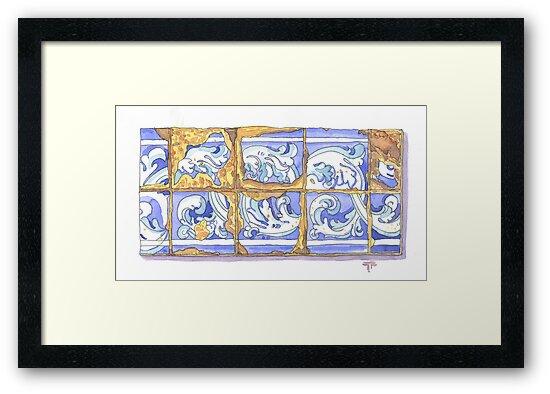 tiles II by terezadelpilar ~ art & architecture