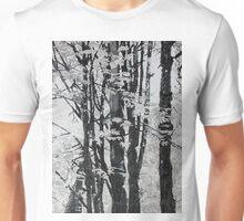 Specks of Light, mixed media on canvas Unisex T-Shirt