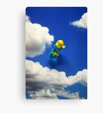 Extreme sports - Skydiving. Canvas Print