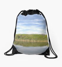 Florida Landscape Drawstring Bag