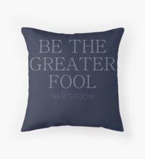 Be The Greater Fool (#nephierb) Throw Pillow