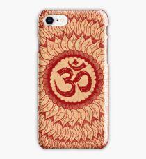 om mandala (liáliom) iPhone Case/Skin
