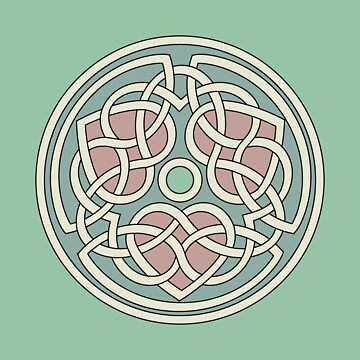 Triple Heart Celtic Knot by chromedreaming