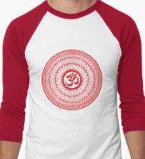 om mandala (liáliom) Men's Baseball ¾ T-Shirt