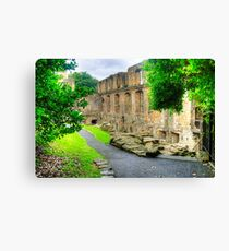 Dunfermline Palace Canvas Print