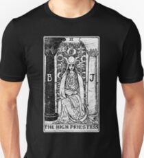 The High Priestess Tarot Card - Major Arcana - fortune telling - occult T-Shirt