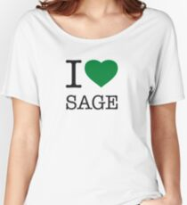 I ♥ SAGE Women's Relaxed Fit T-Shirt