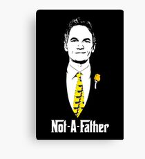 Not-A-Father (Ducky Tie Variant) Canvas Print