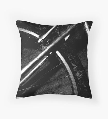 spin me round the tyre baby Throw Pillow