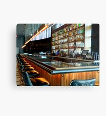 Empty Bar   ^ Metal Print
