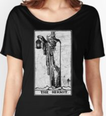 The Hermit Tarot Card - Major Arcana - fortune telling - occult Women's Relaxed Fit T-Shirt