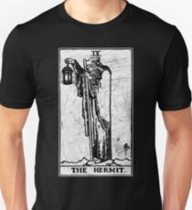 Die Einsiedler Tarot Card - Major Arcana - Wahrsagerei - okkult Slim Fit T-Shirt