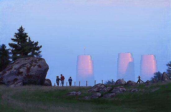 Percys Promenad by Simon Stålenhag