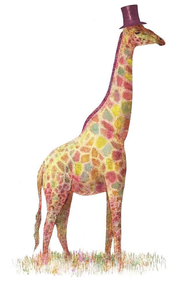 Fashionable Giraffe by Terry  Fan