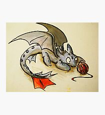 How to train your dragon- Toothless Photographic Print