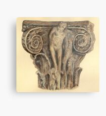 Roman column - architecture Metal Print
