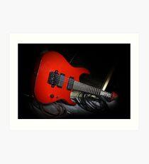 Ibanez MTM1 Mick Thompson Slipknot Guitar Art Print