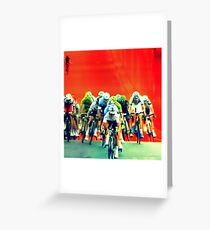 """""""tour"""" from TV - 2 Greeting Card"""