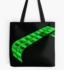 green bench Tote Bag