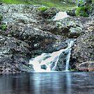 Waterfall near Ullapool by Sue Fallon Photography