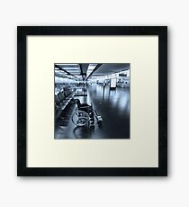 We're here to Help Framed Print
