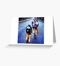 """""""tour"""" from TV - 5 Greeting Card"""