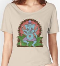 peace ganesh parchment Women's Relaxed Fit T-Shirt