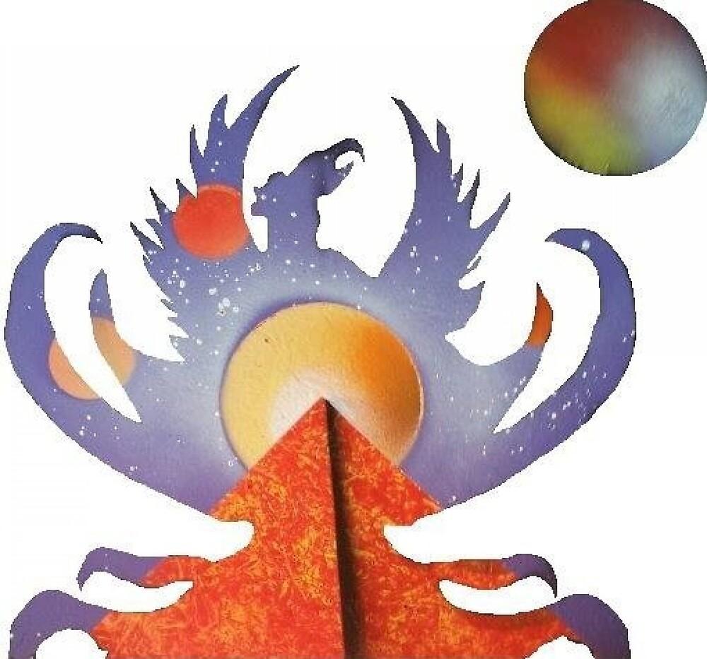 Phoenix Rising Light by Sandy Williamson