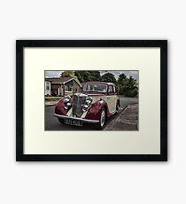 MG Y-type Saloon Framed Print