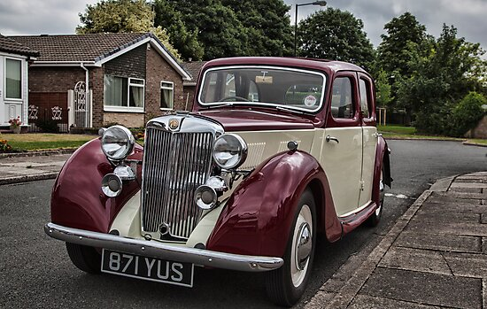 MG Y-type Saloon by Ray Clarke