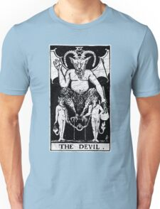 The Devil Tarot Card - Major Arcana - fortune telling - occult Unisex T-Shirt