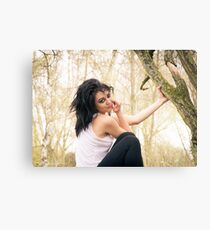 Zoe at the Reserve 01 Canvas Print