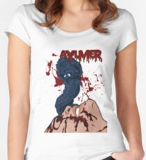 Aylmer - Brain Damage Women's Fitted Scoop T-Shirt