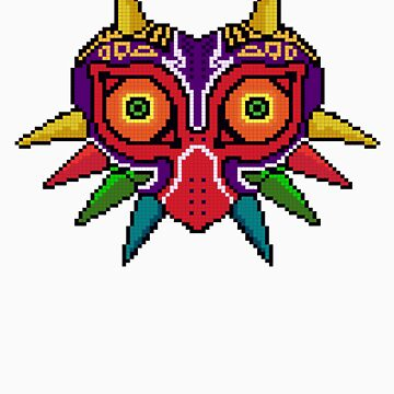 Majora's mask Pxl8 by golem95