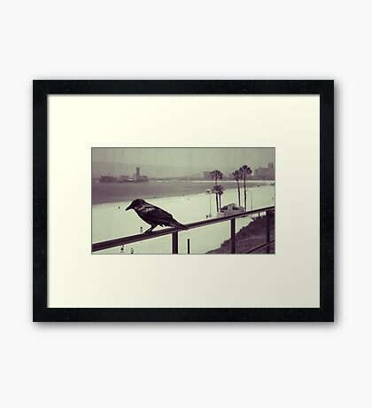 Superstition vs Omens Framed Print
