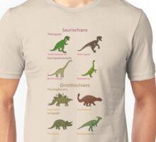 Dinosaur Classification Unisex T-Shirt
