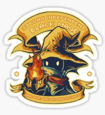 Strong Independent Black Mage Sticker