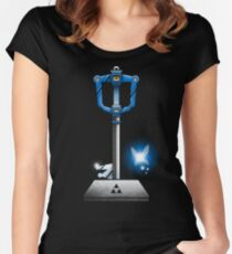 MASTER KEYBLADE Women's Fitted Scoop T-Shirt