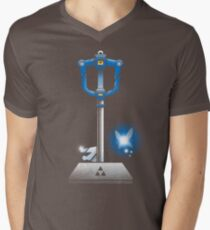 MASTER KEYBLADE Men's V-Neck T-Shirt